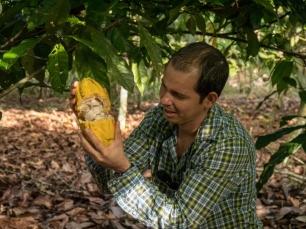 Bei Don Olivo merkt man sofort die Leidenschaft für Kakao.