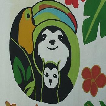 Zwar noch nicht im Namen, aber immerhin im Logo: das Faultier!