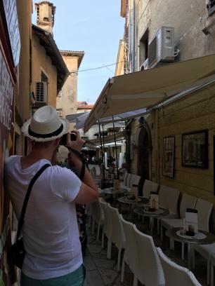 Fotomotive gibt's in Poreč an jeder Ecke!